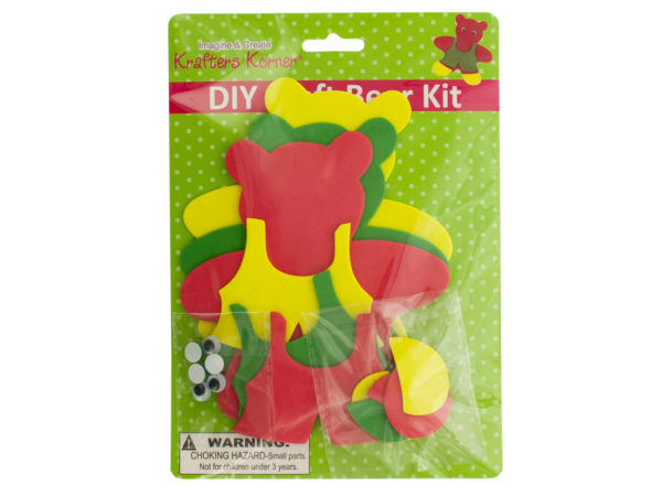 Wholesale do it yourself craft kits craft cheap diy craft foam teddy bear kit solutioingenieria Gallery