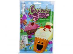 Wholesale Cupcake Land 24 Page Coloring Pouch With Crayons And Stickers