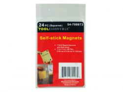 Wholesale 24 Piece Self Stick Magnet Squares