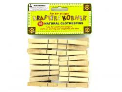 Wholesale Natural Wood Craft Clothespins