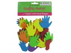Wholesale Foam Hand And Feet Craft Sticker Shapes
