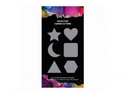 Wholesale Brea Rose 18 Piece Assorted Shaped Pads