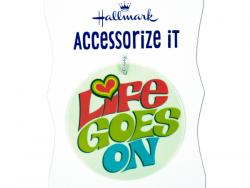 Wholesale 'Life Goes On' Gift Trim Tag