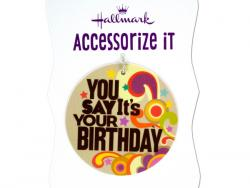 Wholesale 'You Say It's Your Birthday' Gift Trim Tag