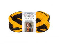 Wholesale Gold & Black Team Spirit Sashay Yarn