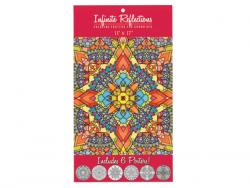 Wholesale Infinite Reflections Adult Coloring Poster Set